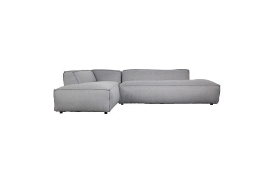 Sofá de esquina izquierda Fat Freddy gris-claro Clipped