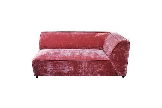 Sofá de esquina rosa Floyd Clipped