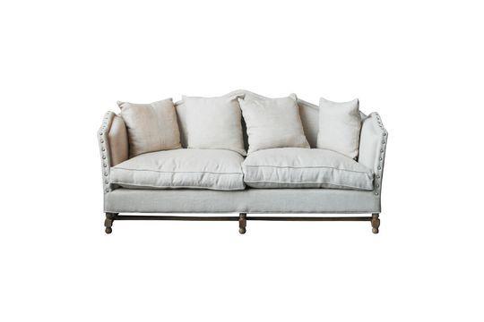 Sofá de lino María Antonieta Clipped