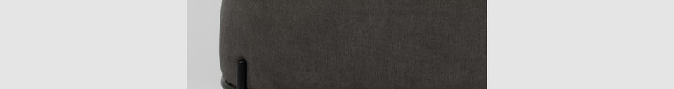 Descriptivo Materiales  Sofá gris Polly