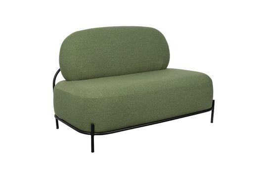Sofá verde Polly Clipped