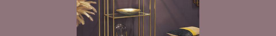 Descriptivo Materiales  Soporte de pared de metal estilo Art Deco
