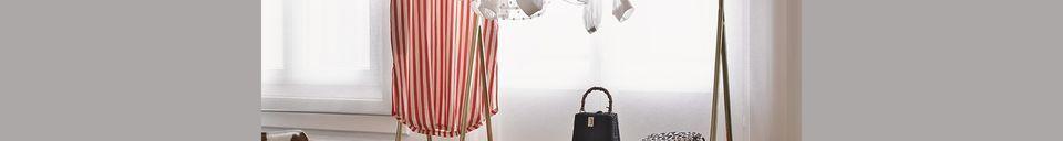 Descriptivo Materiales  Soporte de ropa de latón Cusance