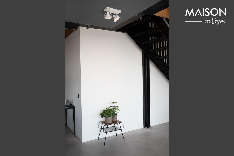 Un punto de luz para una habitación cálida y confortable