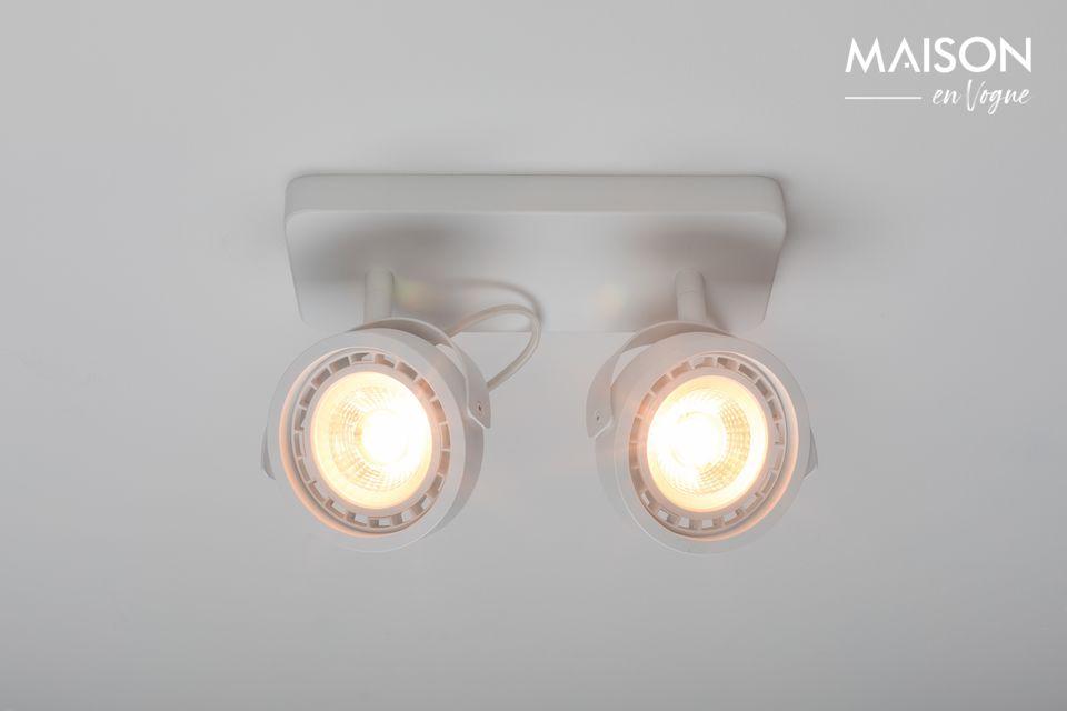 Spotlight Dice-2 DTW Blanco - 4