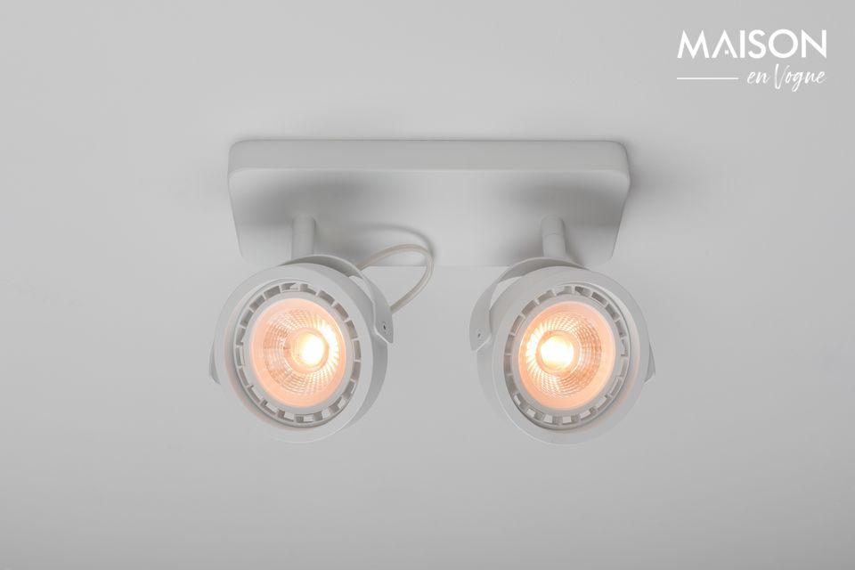 Spotlight Dice-2 DTW Blanco Zuiver