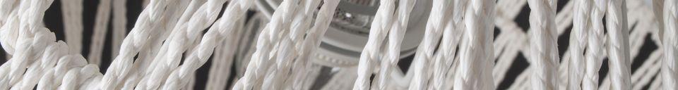 Descriptivo Materiales  Suspensión Cable 60 blanco