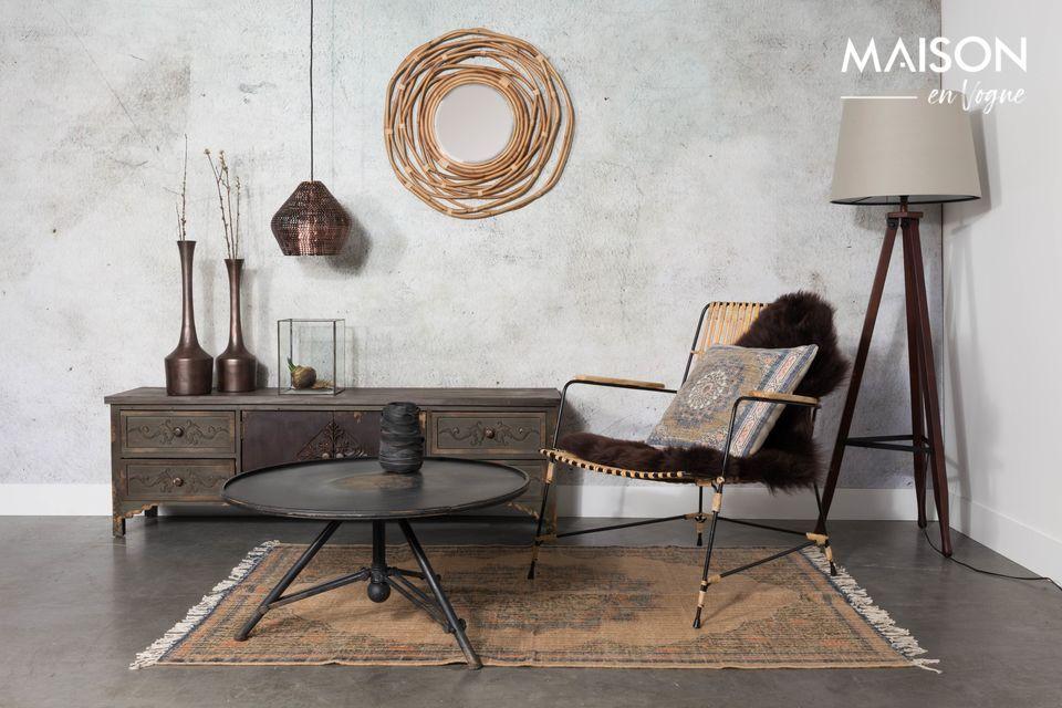 Un colgante de cobre de inspiración nórdica para un interior elegante