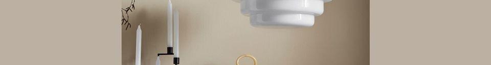 Descriptivo Materiales  Suspensión Hirel en vidrio y cromo
