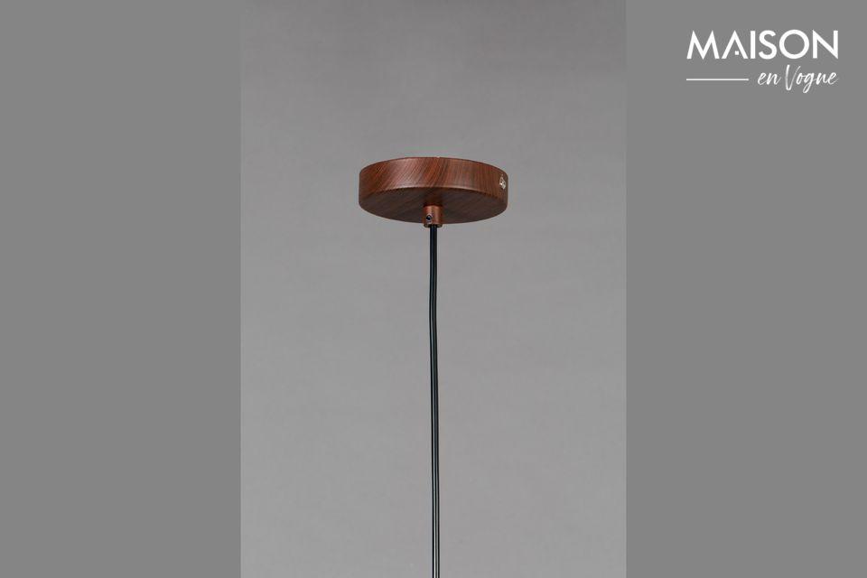 La pantalla de la lámpara está hecha de poliéster (65%) y algodón (35%)