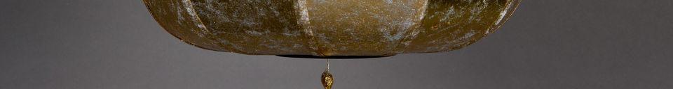Descriptivo Materiales  Suspensión Suoni color oro
