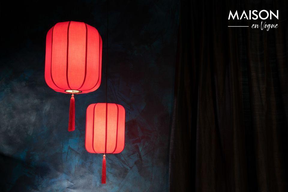 Es en la tradición de los festivales de linternas chinas que se nos ocurrió el diseño del