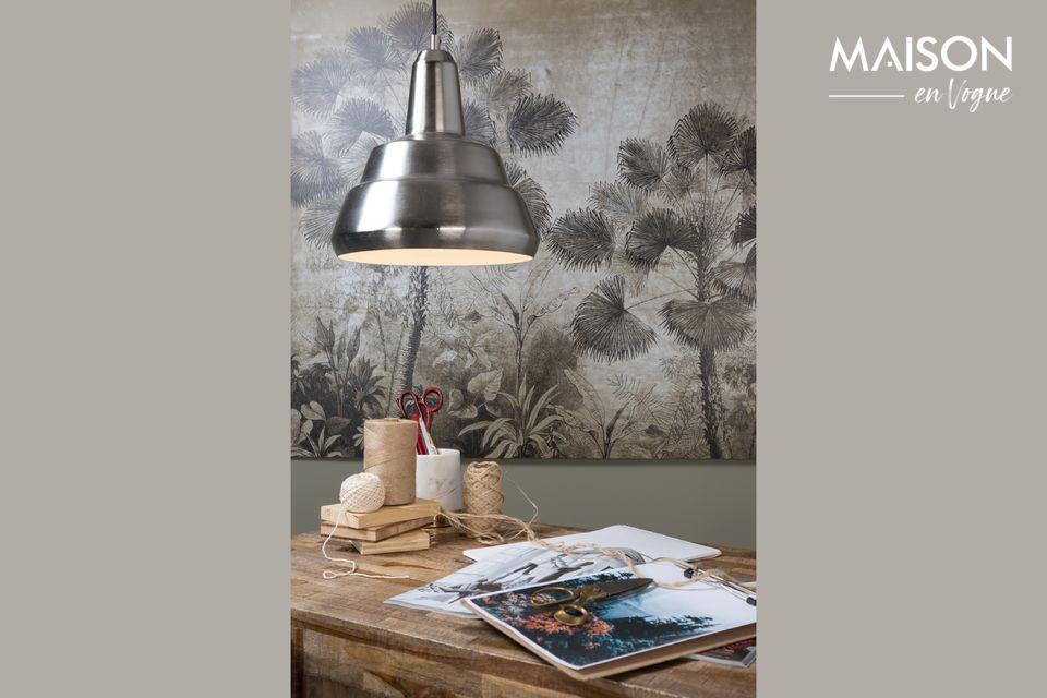 Su elegante color gris limita el polvo y se mezcla bien con cualquier interior