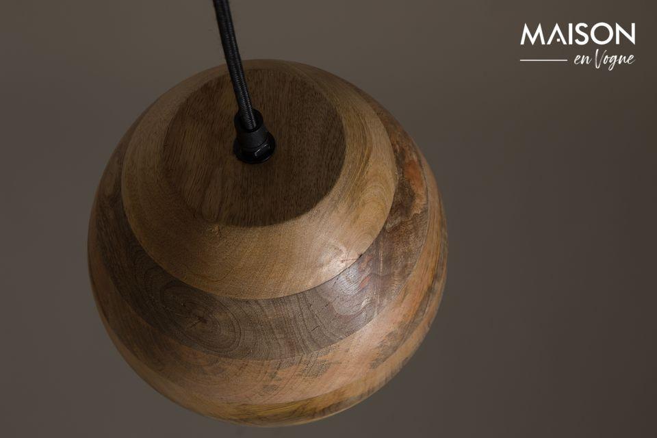 Suspensión Woody de madera de mango - 5