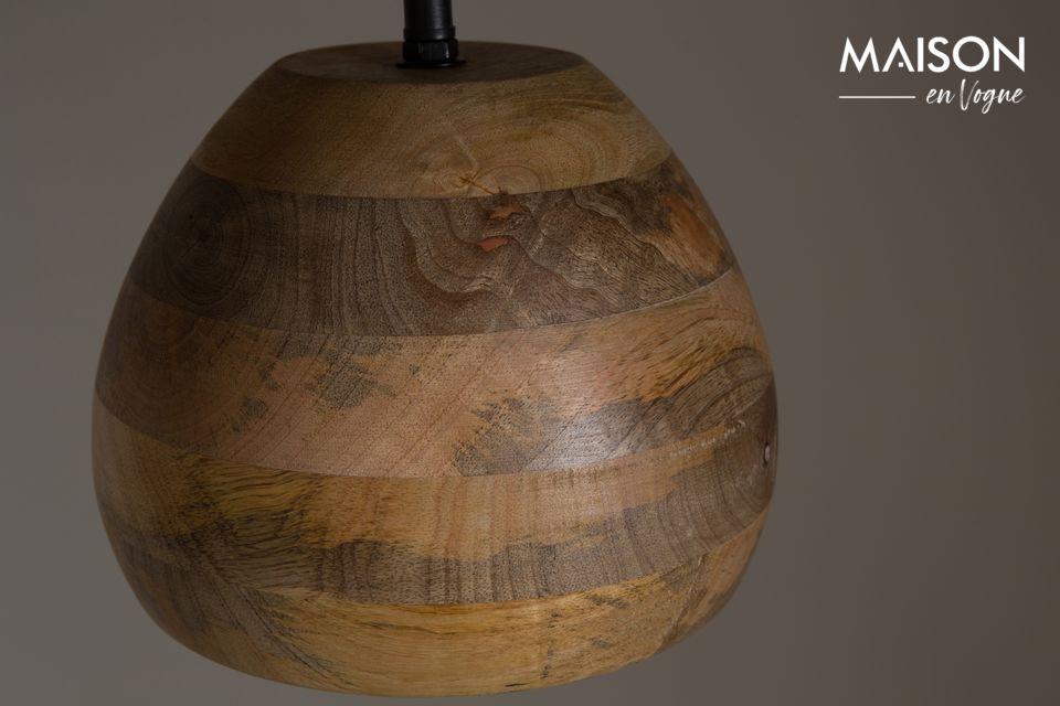 Suspensión Woody de madera de mango - 6