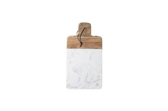 Tabla de cortar de mármol blanco Cairanne Clipped