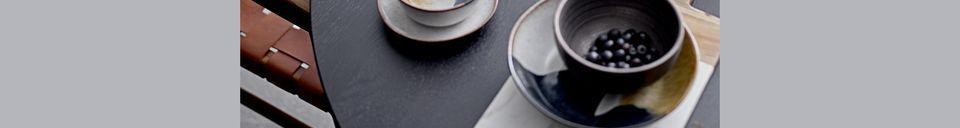 Descriptivo Materiales  Tabla de cortar de mármol blanco Cairanne