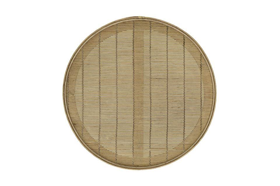 Con su tamaño medio y doble borde, la bandeja de la Sombra M es una pieza técnica y práctica