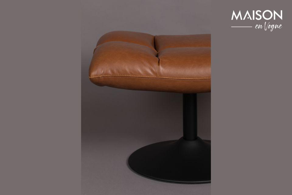 El asiento es particularmente cómodo y suave