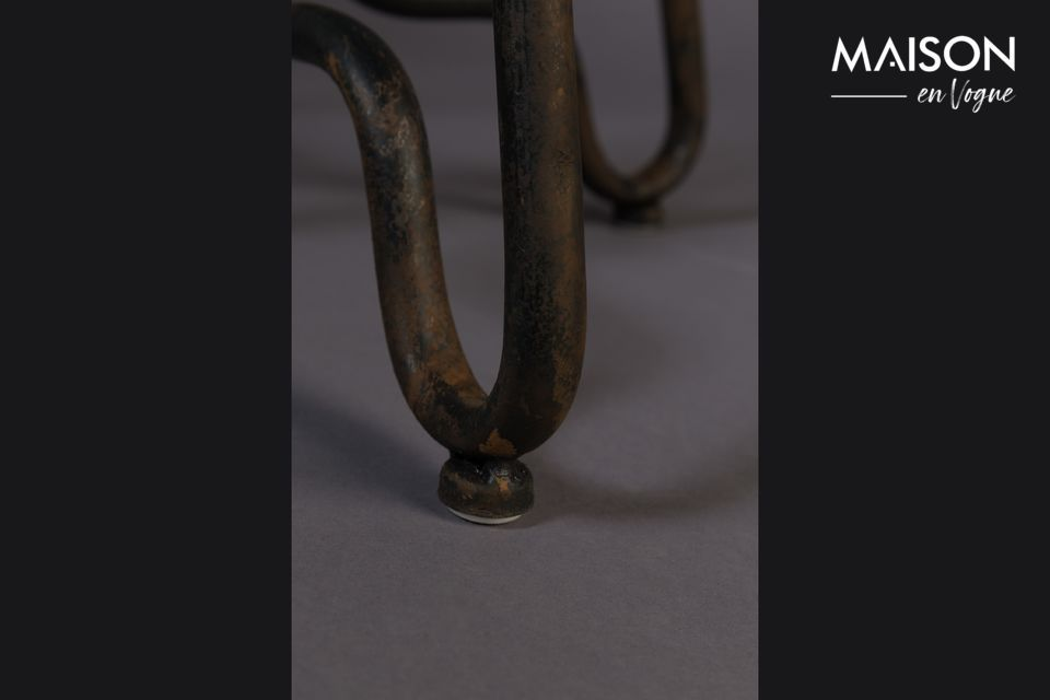 Este asiento aporta un toque industrial a todos los estilos de decoración