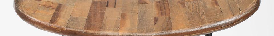 Descriptivo Materiales  Taburete de bar Tangle natural