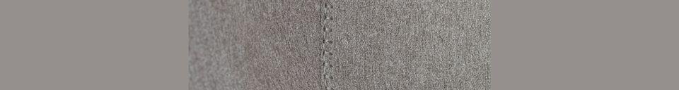 Descriptivo Materiales  Taburete de mostrador Feston Fab Grey