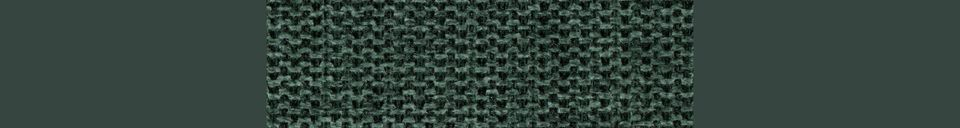 Descriptivo Materiales  Taburete de mostrador Jolien Counter dorado y verde oscuro