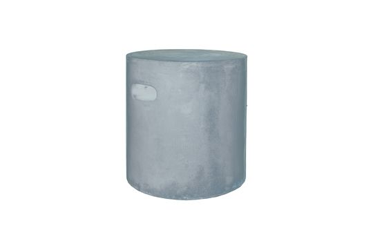 Taburete Fibreflex de color gris claro Clipped