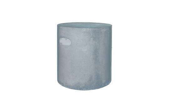 Taburete Fibreflex de color gris claro