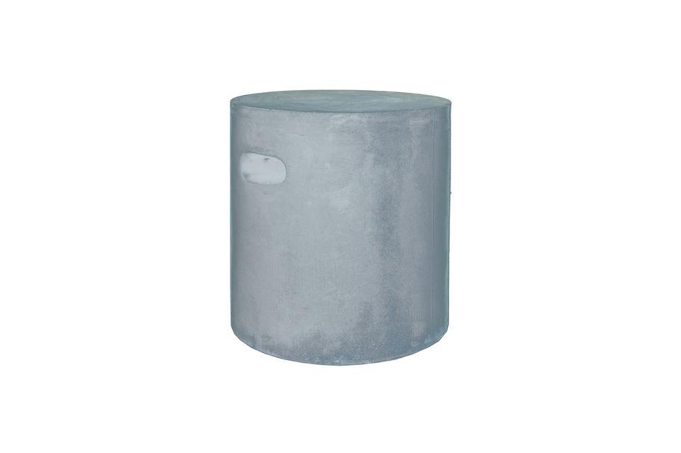 Taburete Fibreflex de color gris claro Pomax