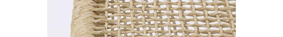 Descriptivo Materiales  Taburete Treillage