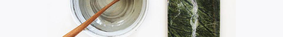 Descriptivo Materiales  Tapa de mármol verde Ortaffa