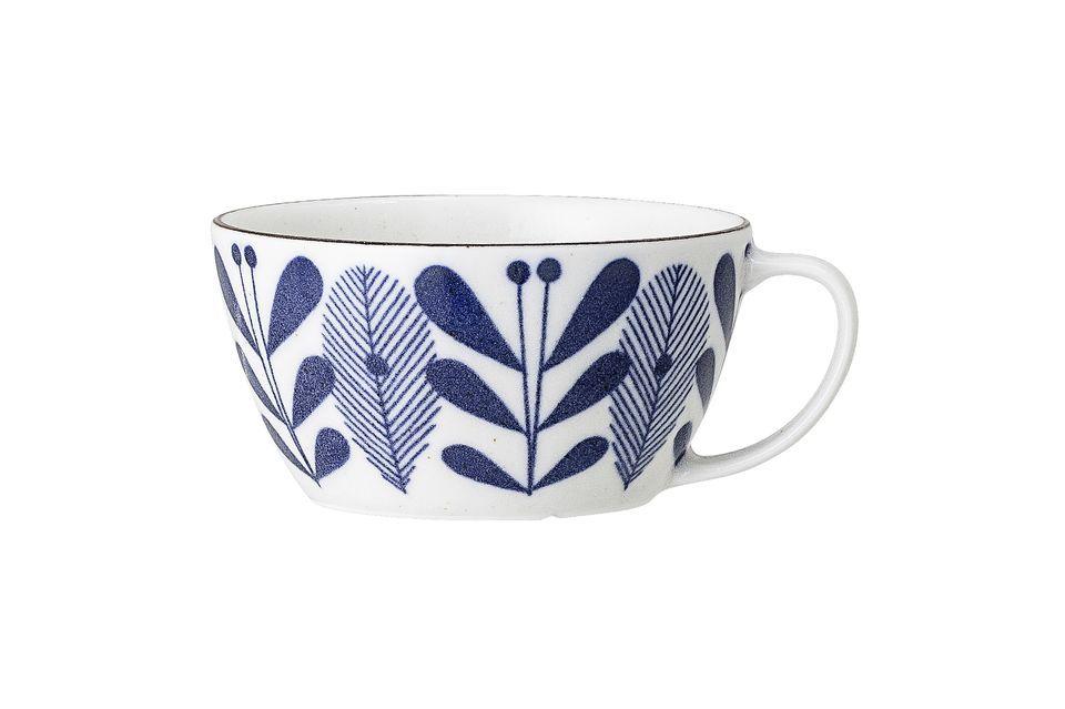 Taza de porcelana Ccamelia Bloomingville