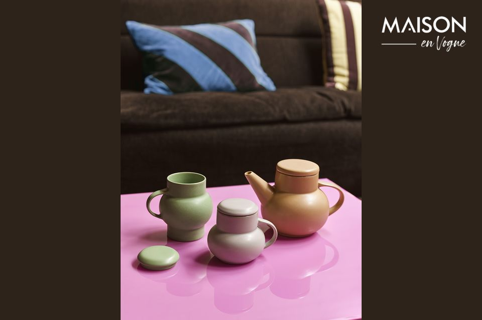 Tetera de burbujas de cerámica Alaigne HK Living