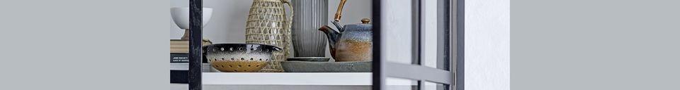 Descriptivo Materiales  Tetera de porcelana Aura