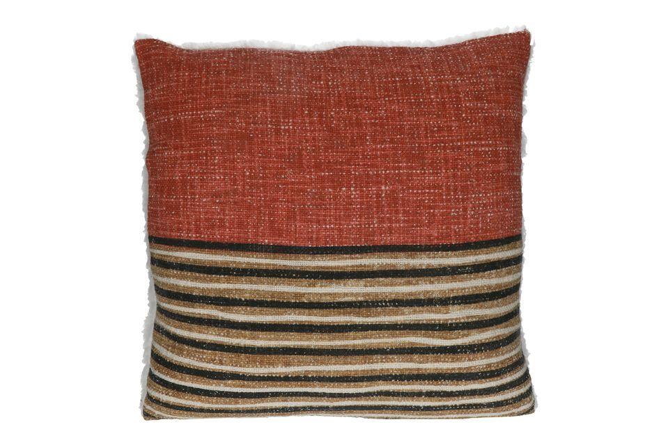 Energice la decoración de su sala de estar o de su dormitorio con el cojín estampado de Toudou