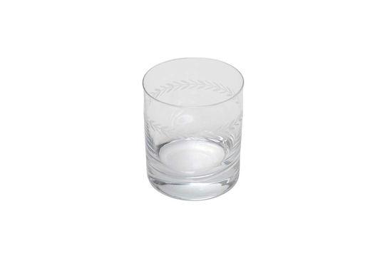 Vaso de whisky Laurier grabado
